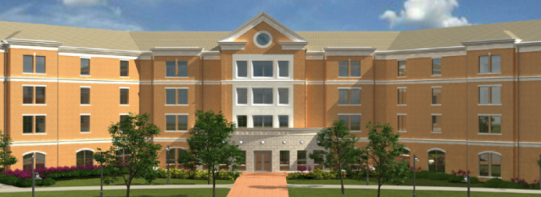 UNT Rawlins Residence Hall, Denton, Texas – 497 Beds, $42M, Pending LEED V. 2009 Gold Certification, Opened Fall 2015